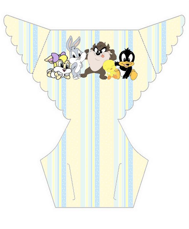 Imprimibles De Los Looney Tunes Bebés 3 Ideas Y Material