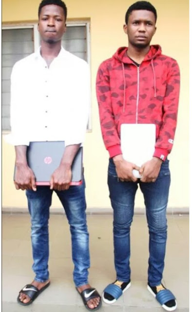 "Ooh Mine! Internet Fraudsters aka ""Yahoo Boys"" With Exotic Car And House Arrested By EFCC In Lagos. (See Photosl"
