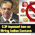 CJP Saqib Nisar Imposes ban on Airing Of Indian Content in Pakistan - Showbizbeat