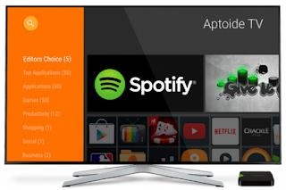 تطبيق Aptoide Tv البديل الأفضل لمتجر بلاي ستور لاحتوائه على أكثر من 80000 تطبيق مجاني و مدفوع