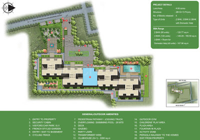 Dosti Centrum Hadapsar Master plan
