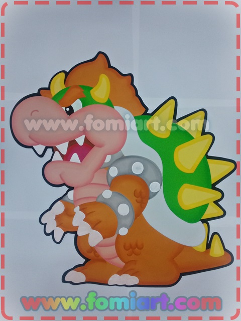 Bowser Mario Bross