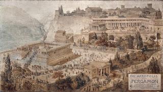 Πέργαμος η Ελληνική πόλη που δημιούργησε την περγαμηνή και τα μνημεία της που κατέληξαν στο Βερολίνο