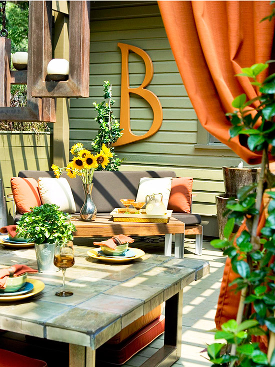 Modern Furniture: Colorful Outdoor Decorating For Summer 2013 on Colorful Patio Ideas id=83424