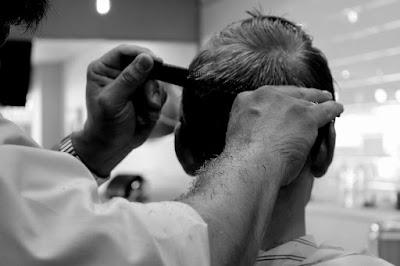 usaha cukur rambut