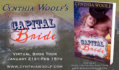 Guest Post & Top Ten List with author Cynthia Woolf