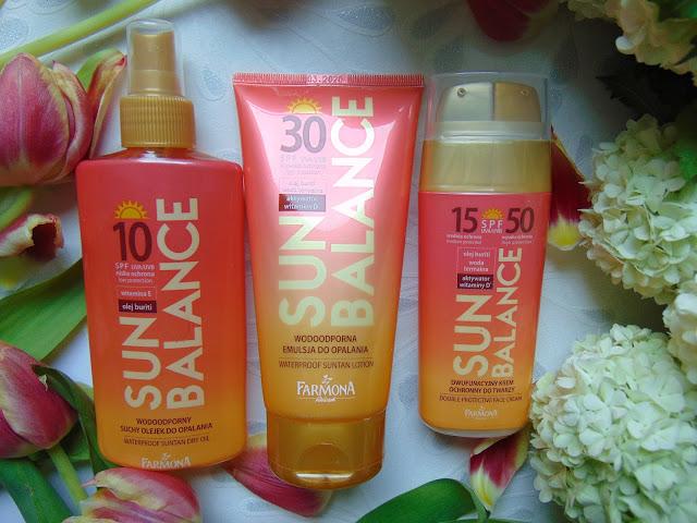 SUN BALANCE - Produkty do opalania z aktywatorem witaminy D - Laboratorium Farmona