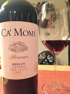 2013 Ca'Momi Merlot Reserve Carneros Napa Valley