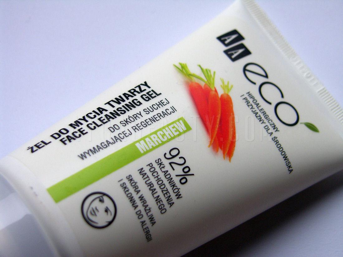AA Eco, Żel do mycia twarzy z olejem z marchewki