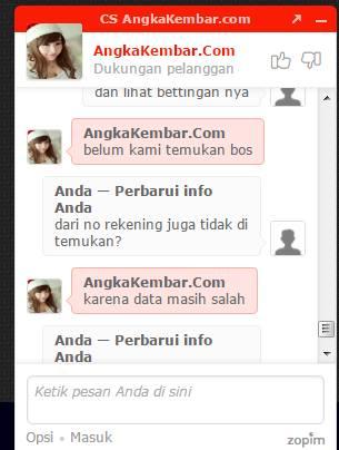 ANGKAKEMBAR.COM PENIPU!!!  BANDAR MODAL DENGKUL !!!!
