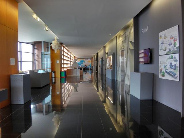 Pasillo del Museo del Origami