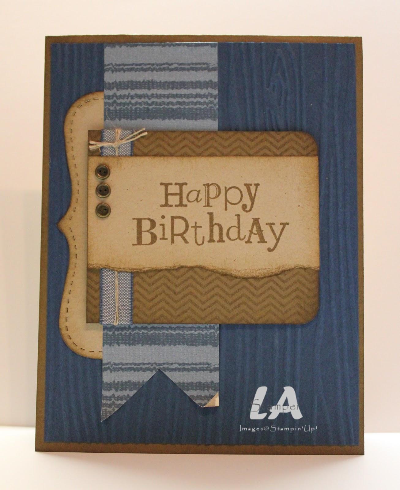 LA Stamper: Happy Birthday, Man