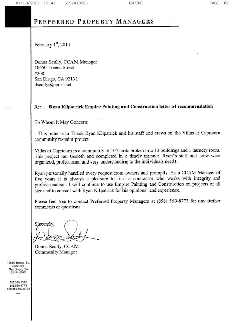 Reference Letter Kitchen Staff