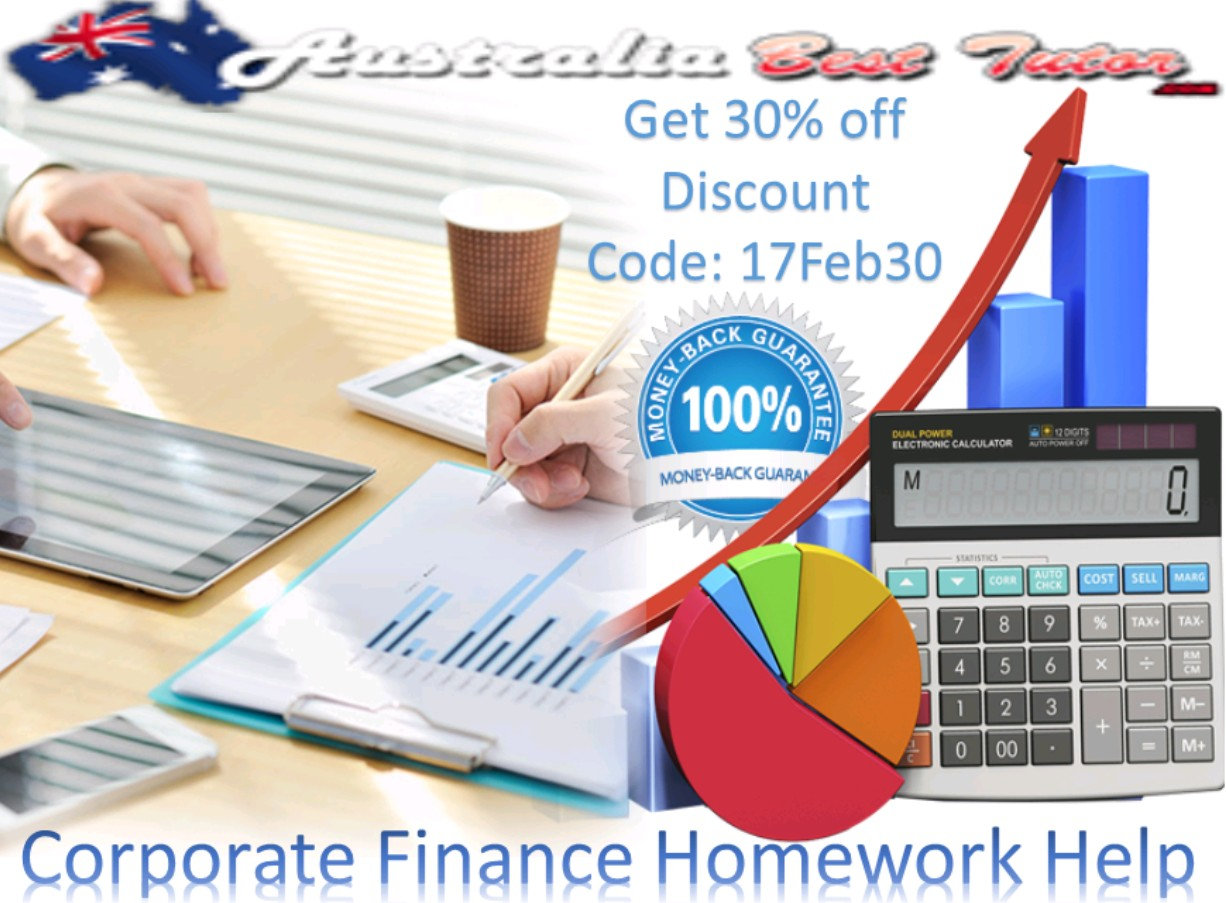 corporate finance assignment We can offer you corporate finance assignment help, so you can forget about your problems with homework ask questions you have difficulties with and receive explained answers.