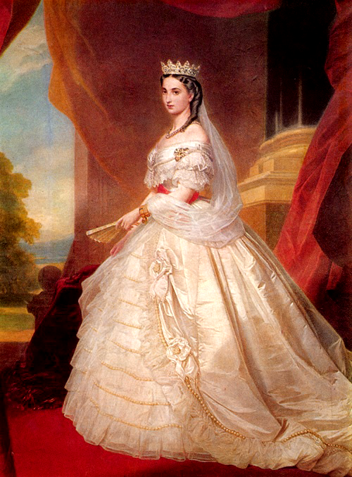 marie jose of belgium on her great aunt empress carlota of mexico