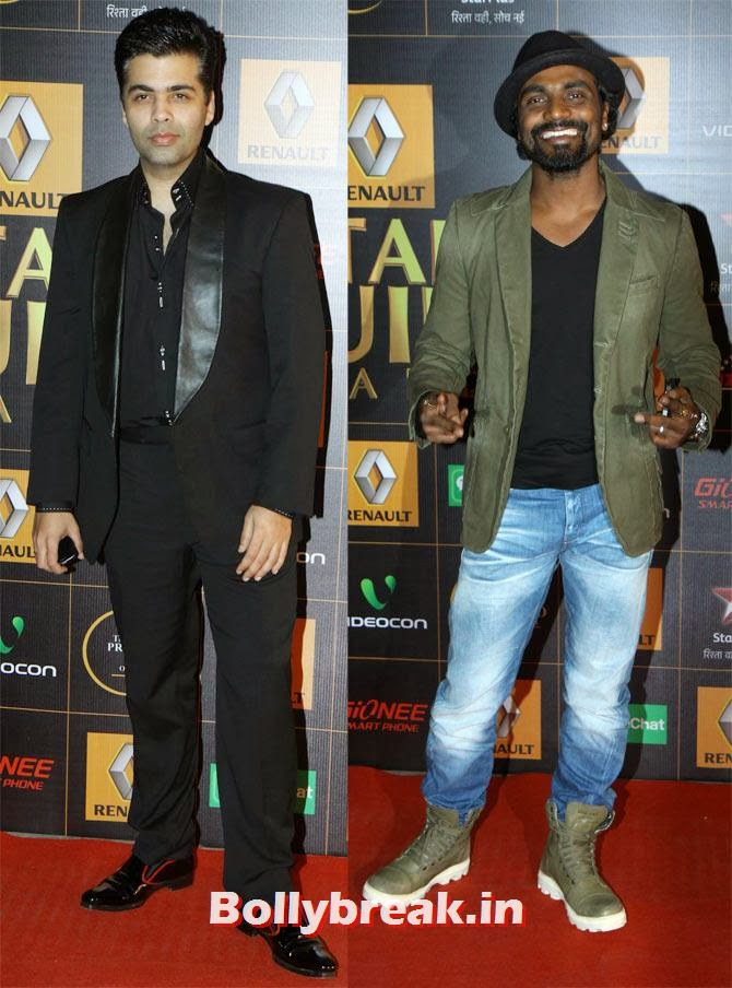 Karan Johar, Remo D'Souza, Star Guild Awards 2014 Pictures