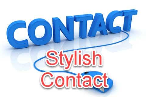 Add stylish contact form