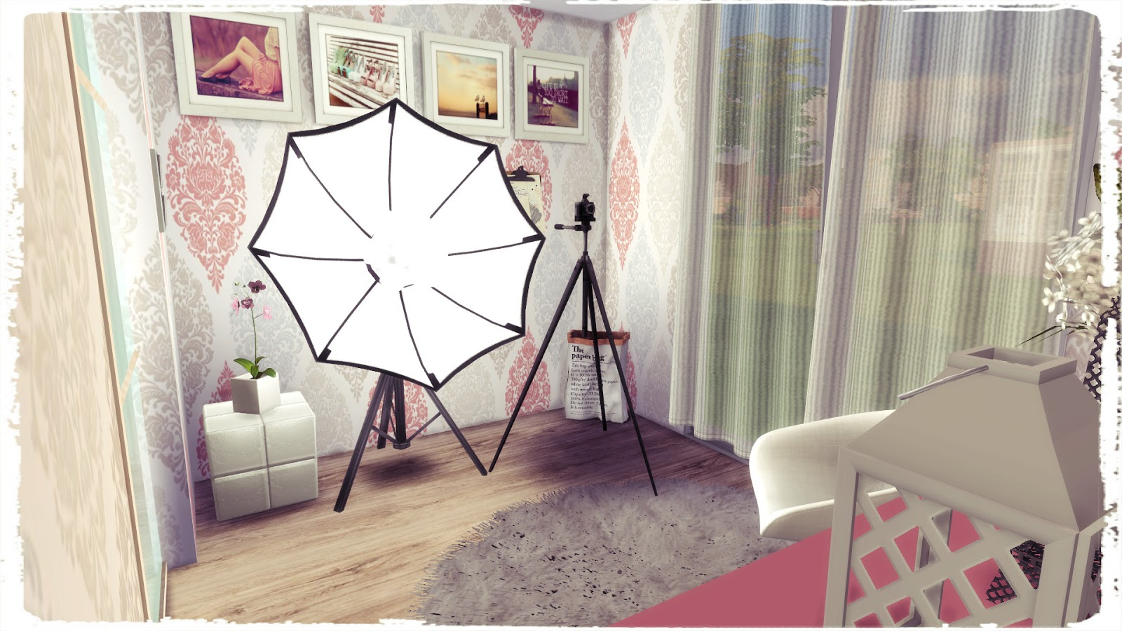 Sims 4 Youtuber Bedroom Dinha
