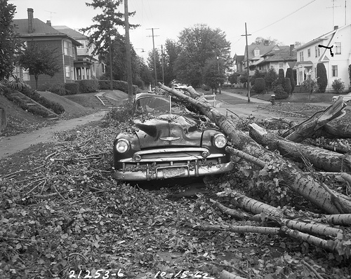 Old Photos Of Disasters At Seattle Vintage Everyday