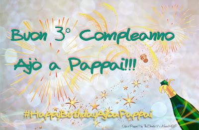Immagine del logo del 3° contest #HappyBirthdayAjoaPappai