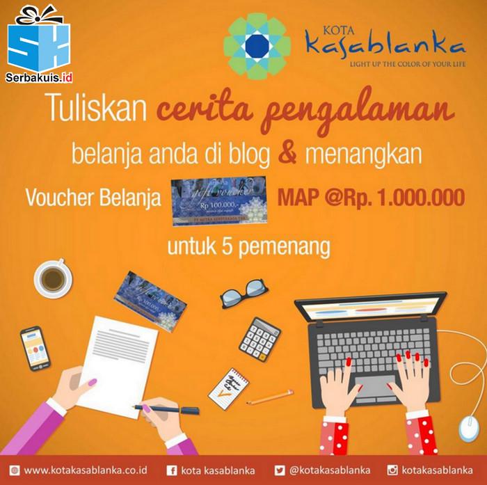 Kota Kasablanka The Color of Your Life Blog Contest