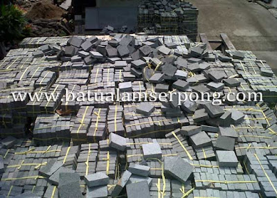batu alam kobel stone untuk lantai di jakarta