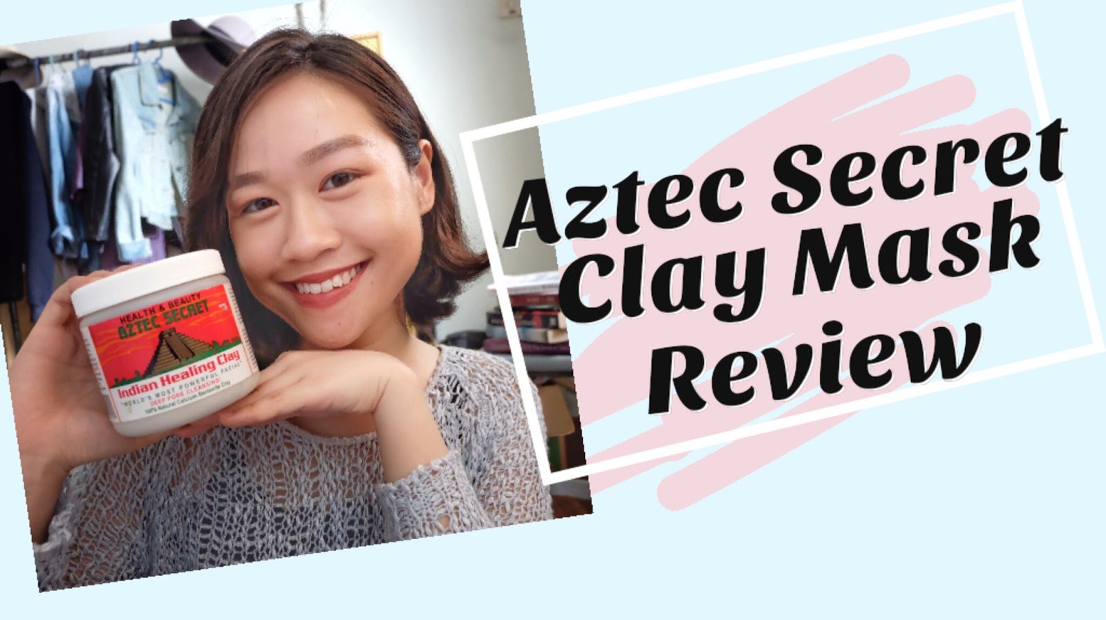 I finally tried the Aztec Secret Indian Healing Clay Mask