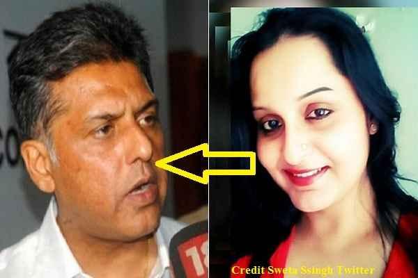 shweta-singh-slams-manish-tiwari-on-twitter-who-abused-modi-bhakt