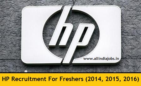 HP Recruitment 2018-2019 | Job Openings For Freshers