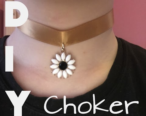 DIY Choker Necklace!