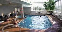 Indoor pool Smoky Mountain hotel