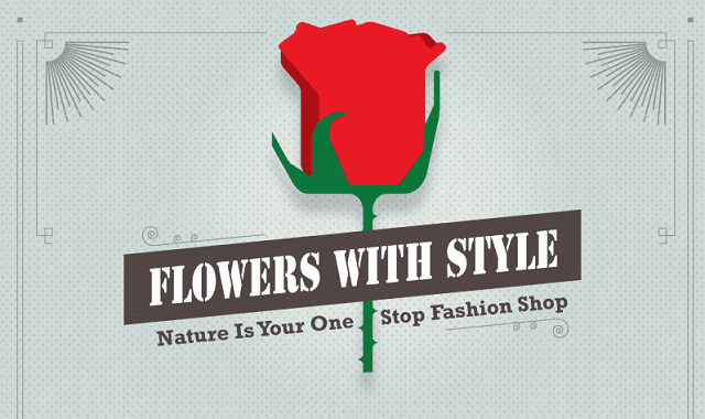 Flowers with Style: Nature is Your One Stop Fashion Stop