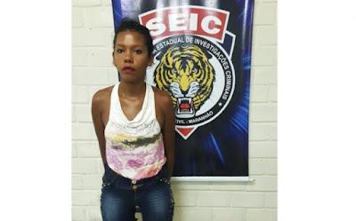 Mulher é presa por porte ilegal de arma de fogo em São Luís
