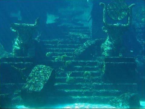 Ruinas bajo el agua