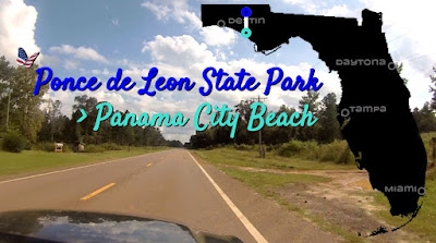 Ponce de Leon nach Panama City Beach, Florida USA