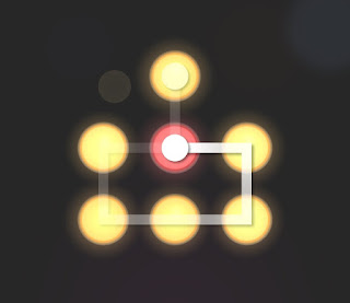 Solution, Cheats, Walkthrough for Neon Hack [Neon Dots] Level 40
