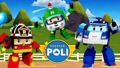Robocar Poli, Roy, Helly