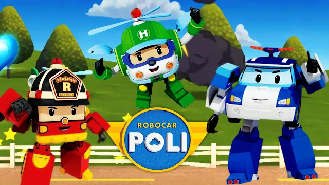 Robocar Poli, Roy, Helly