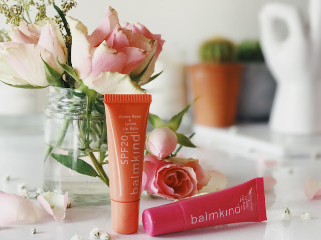 balmkind Alpine Rose & Lysine Lip Balm SPF20 Review