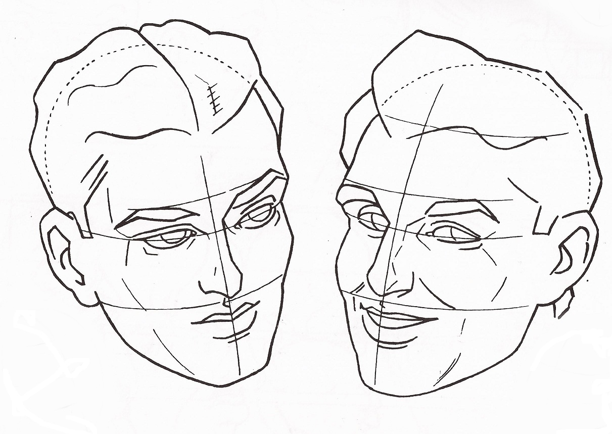 Top Desenhe Tudo: Cabeça e Face PJ24