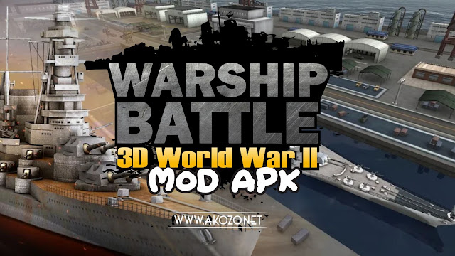 WARSHIP BATTLE:3D World War II Mod Apk