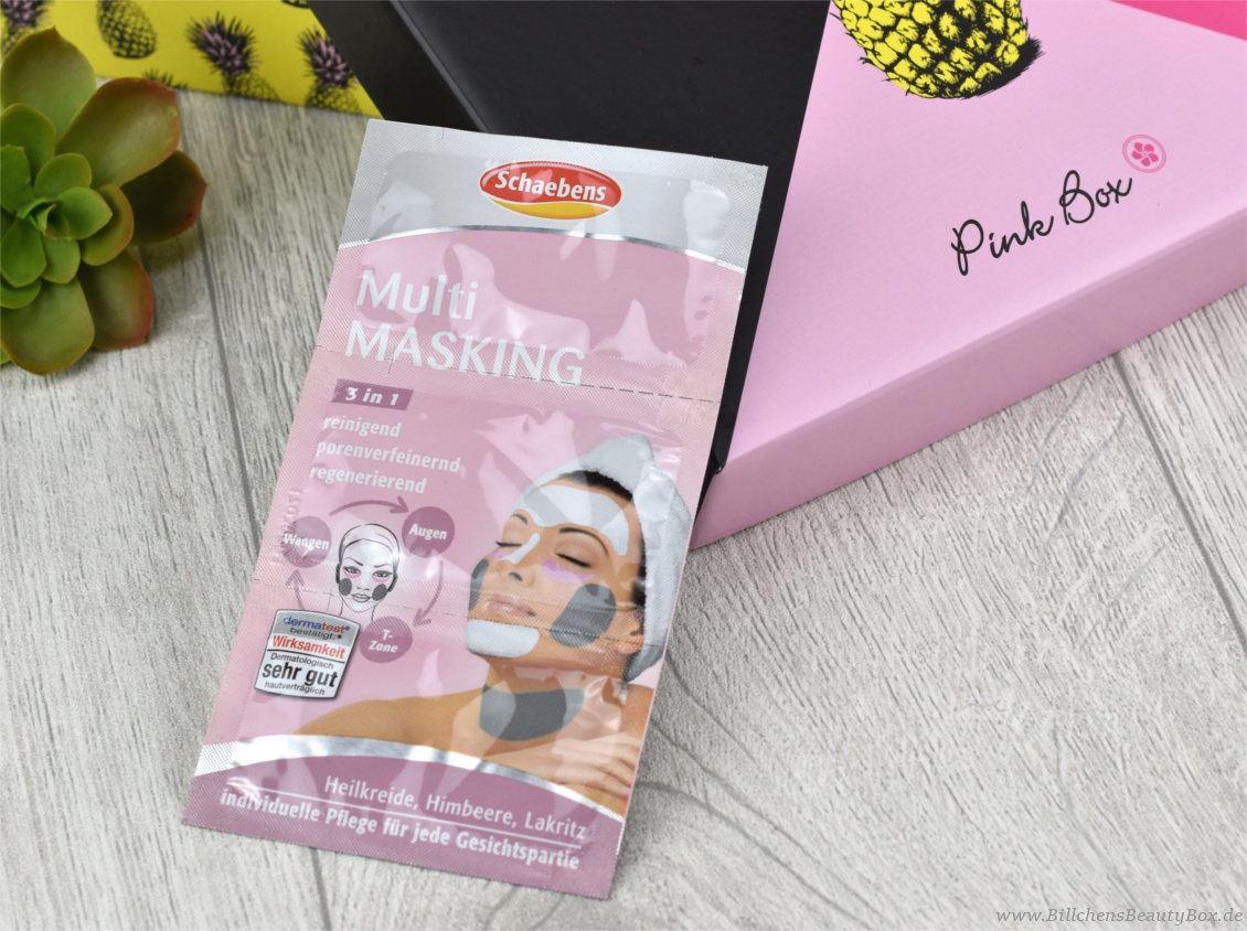 Pink Box Grazia - Juli 2017 - Schaebens Multi-Masking