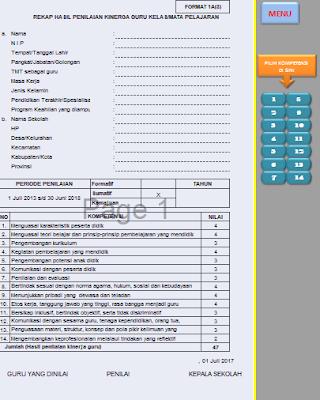 gambar contoh format 1A PKG terbaru