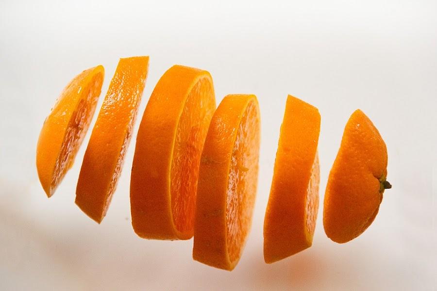naranja para la belleza