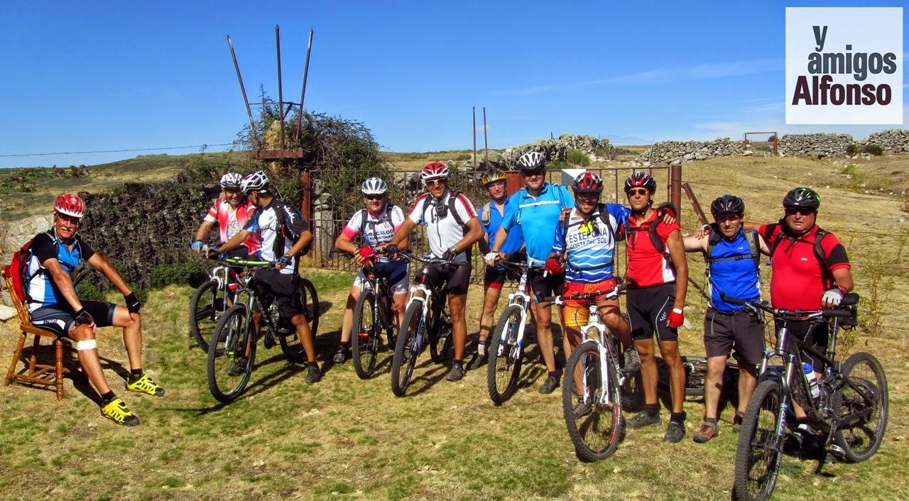 MTB a La Cepeda por Cerca Portillo - Alfonsoyamigos