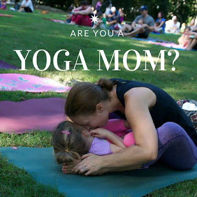 Yoga Mom Yoga with Toddler