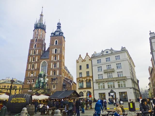 Basílica de Santa Maria - Cracovia, por El Guisante Verde Project
