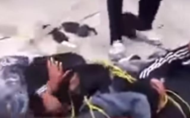 VÍDEO; Los voy a matar mierd..por que roban llorando piden que los dejen tras tablearlos en Tamaulipas