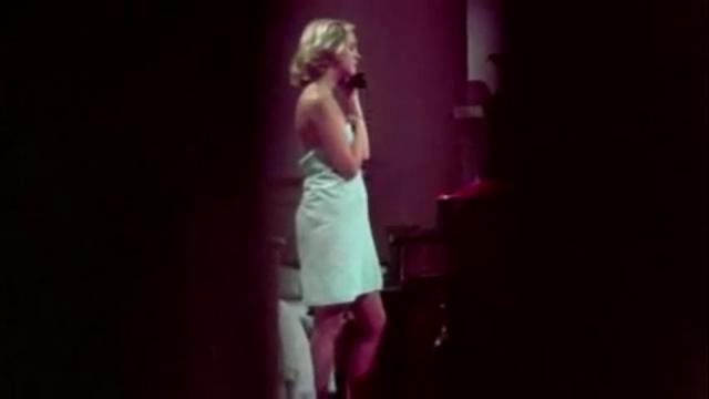 Amanda Post (Susan Bracken) in DON'T OPEN THE DOOR.