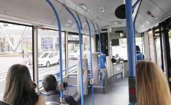 Equipajes, autobús, traslado